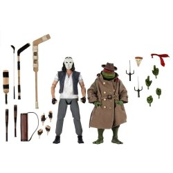 Teenage Mutant Ninja Turtles Action Figure 2-Pack Casey Jones & Raphael in Disguise 18 cm