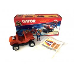 M.A.S.K – Gator (Unstickered and with box)