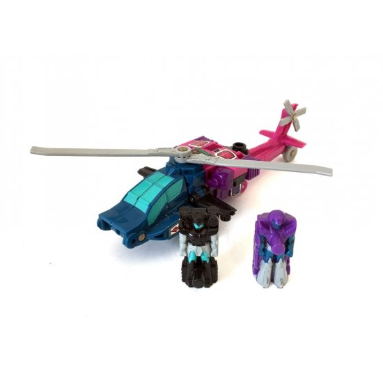 Transformers G1: Targetmasters: Spinister (vesion 2)