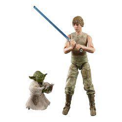 Star Wars Episode V Black Series Action Figure 2-Pack 2020 Luke Skywalker and Yoda (Jedi Training)