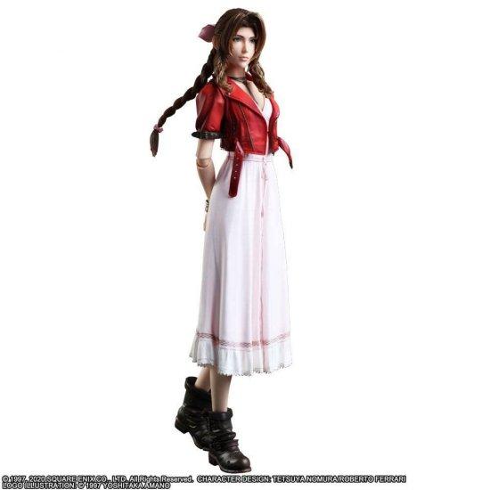 Final Fantasy VII Remake Play Arts Kai Action Figure Aerith Gainsborough 25 cm