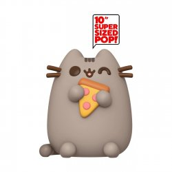 Pusheen Super Sized POP! Vinyl Figure Pusheen w/Pizza 25 cm