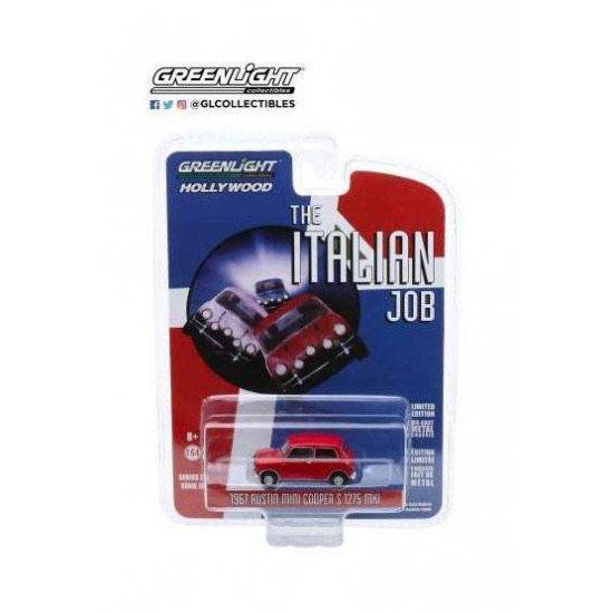The Italian Job Diecast Model 1/64 1967 Austin Mini Cooper S 1275 MkI red