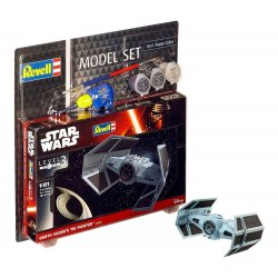 Star Wars Model Kit 1/121 Model Set Darth Vader's TIE Fighter 7 cm