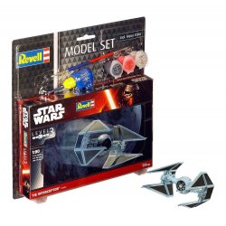 Star Wars Model Kit 1/90 Model Set TIE Interceptor 10 cm