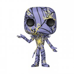 Nightmare before Christmas POP! Disney Artist Series Vinyl Figure Jack w/ Case 9 cm