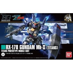 Gundam - RX-178 Gundam Mk-II Titans (revive) HGUC 1/144