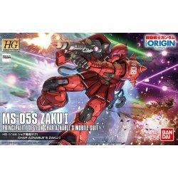 Gundam - MS-05S Char Aznable's Zaku I HGGTO 1/144