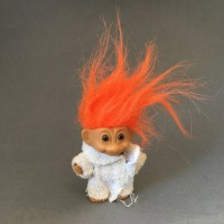 My Lucky Bathrobe Troll Doll