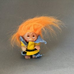 Good Luck Trolls - Orange Hair Troll