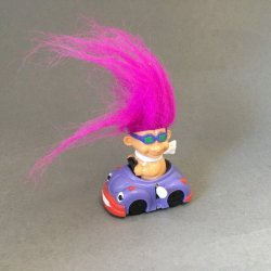 Russ Berrie Wind-Up Troll