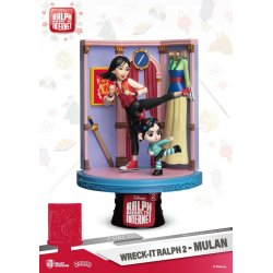 Ralph Breaks the Internet D-Stage PVC Diorama Mulan 18 cm