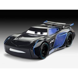 Cars Junior Kit Model Kit with Sound & Light Up 1/20 Jackson Storm