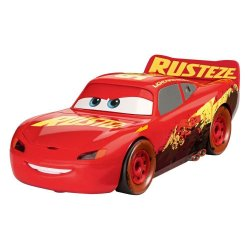 Cars Junior Kit Model Kit with Sound & Light Up 1/20 Muddy RRC Lightning McQueen
