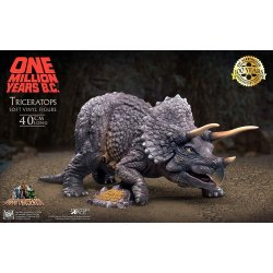 One Million Years B.C. Soft Vinyl Statue Triceratops 40 cm