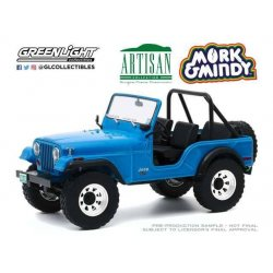 Mork & Mindy Diecast Model 1/18 1972 Jeep CJ-5