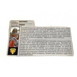 GI Joe – Undertow (v1) Waterput Trident French Dutch File Card