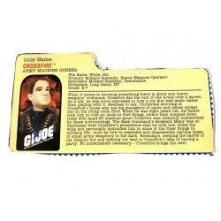 GI Joe – Crossfire (v1) File Card