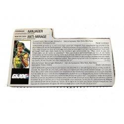 GI Joe – Backblast (v1) Aanjager Anti-Mirage Dutch French File Card