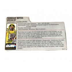 GI Joe – Airtight (v1) Gasmasker Dutch File Card
