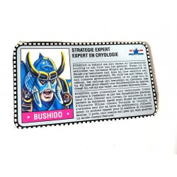 GI Joe – Bushido (v2) Dutch French File Card