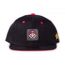 Nintendo Snapback Cap Super Mario Badge