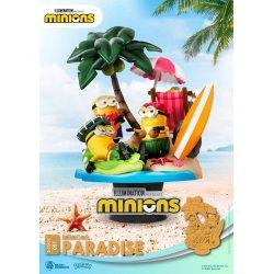 Minions D-Stage PVC Diorama Paradise 15 cm