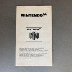 N64 - Nintendo 64 Consumer Information Booklet (EU)
