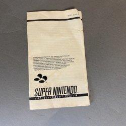 Super Nintendo - Consumer Information Booklet (EU)