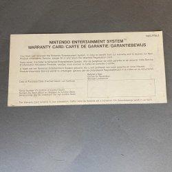 NES - Warranty (EU)