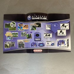 Nintendo Gamecube - Catalog Fold Out