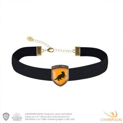 Harry Potter Choker with Pendant Hufflepuff