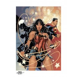 DC Comics Art Print Justice League 46 x 61 cm - unframed