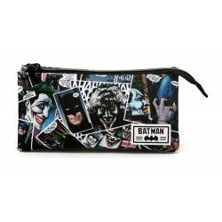 DC Comics Pencil Case Joker Comic Triple