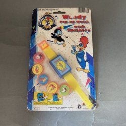 Woody Woodpecker Pop-up Watch With Spinners