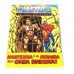 Masters Of The Universe – Mantenna and the Menace of the Evil Horde! (German/Italian Mini Comic)
