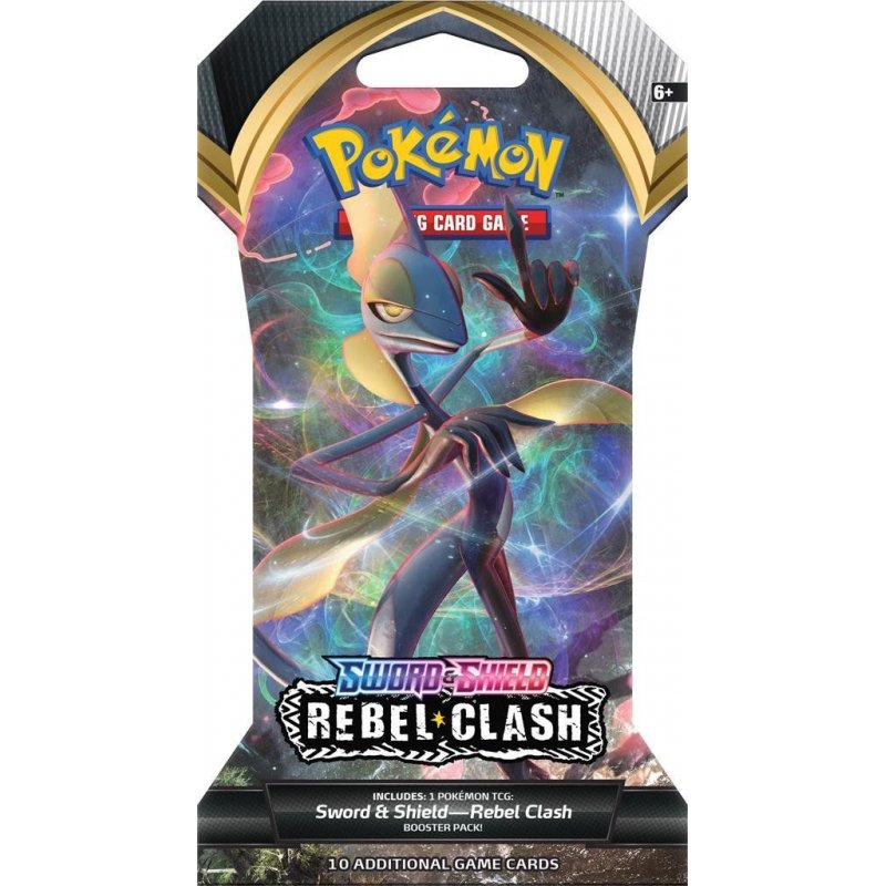 Pokémon TCG Sword & Shield Rebel Clash Sleeved Booster