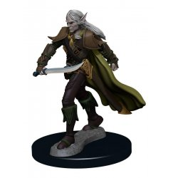 Pathfinder Battles Premium Miniature pre-painted Elf Fighter Male Case (6)