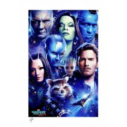 Marvel Art Print Guardians of the Galaxy Vol 2 46 x 61 cm - unframed