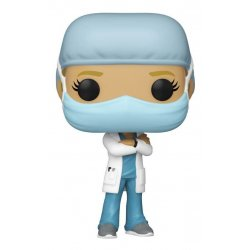 Front Line Worker POP! Heroes Vinyl Figure Female no.1 9 cm