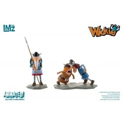 Vicky the Viking Statues Urobe, Snorre & Tjure 7 - 11 cm