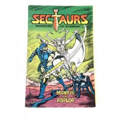 Sectaurs - Mantor An Raplor Mini Comic