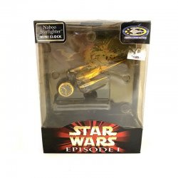Star Wars: Episode 1 - Naboo  Starfighter Mini Clock