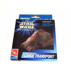 Star Wars: Episode 1 - Amt Ertl Snap Fast Mini Model Large Transport