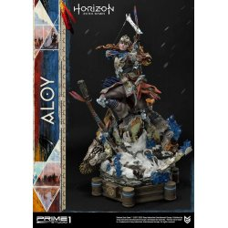 Horizon Zero Dawn Statue 1/4 Aloy Shield Weaver Armor Set 70 cm
