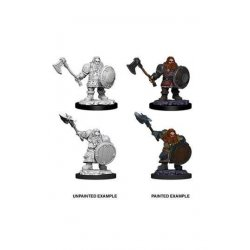 D&D Nolzur's Marvelous Miniatures Unpainted Miniatures Male Dwarf Fighter