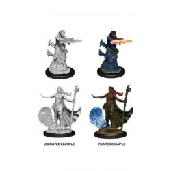 D&D Nolzur's Marvelous Miniatures Unpainted Miniatures Female Human Wizard