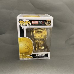 Funko Pop! Marvel - Gamora (Gold Chrome)