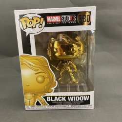 Funko Pop! Marvel - Black Widow (Gold Chrome)