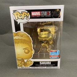 Funko Pop! Marvel - Shuri (Gold Chrome) (Fall Convention)